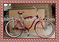 """26"""" los hombres y la dama nuevo estilo de crucero de la playa, bicicleta bicicletas de pasar el ce"""