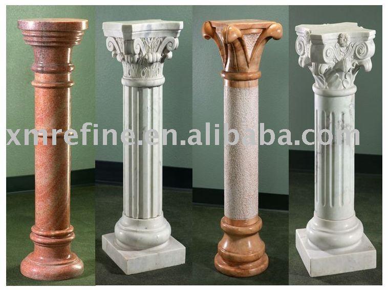 Decorative polyurethane roman column view stone column Decorative columns