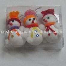 foam christmas snowman