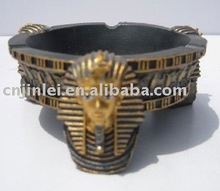 Egyptian resin figurine plate crafts