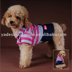 LMSS019 hot sale high quality handsome dogs sport suit;pet garment 2011