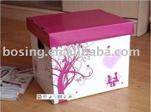 elegant corrugated packaging box