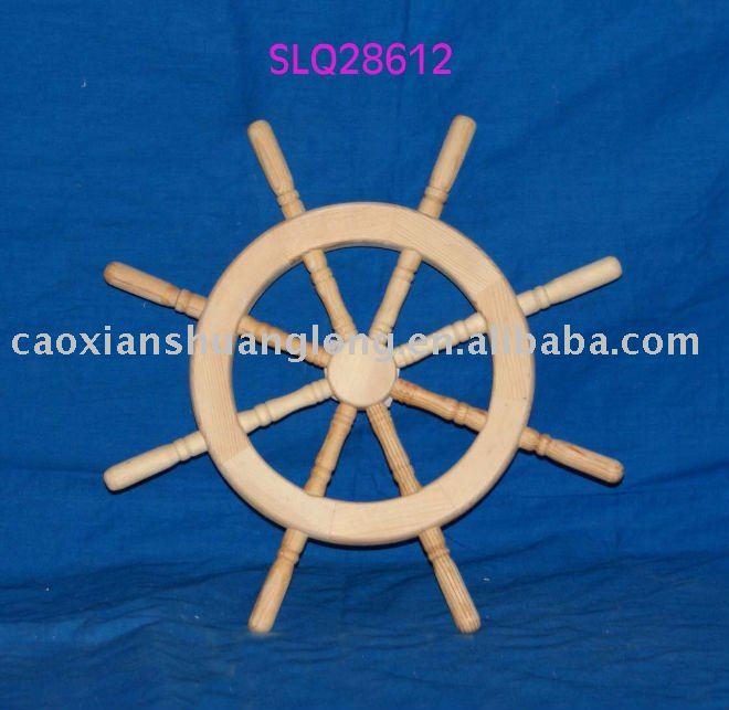 Timón de madera de juguete-Artesanías de Madera-Identificación del ...
