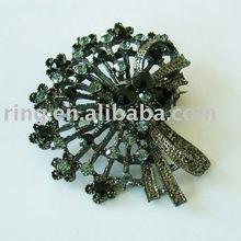 fashion design flower retro alloy brooch