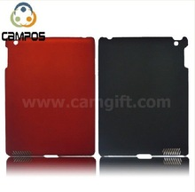 2011 hot! Black PC hard case for iPad 2