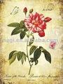 Flor da mola quente arte da parede de madeira