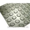 Round Button rubber mat
