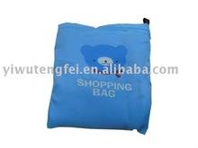 bear wallet style foldable shopping bag