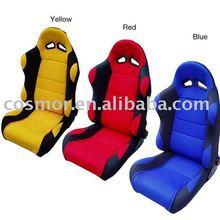 Adjustable game racing seat Fabric