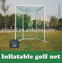 vw golf 6( Inflatable & Portable GOLF PRACTICE NET )