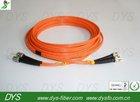 ST/PC-ST/PC Multimode Fiber Optic Patch Cord