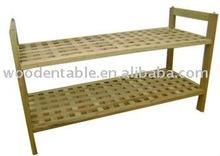 mesh wooden shoe racks