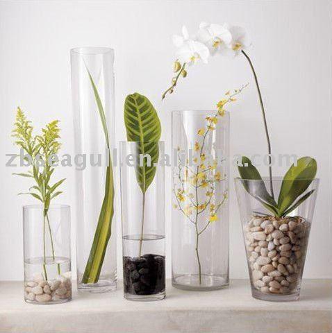 Tall Cylinder Glass Vases Vases Sale
