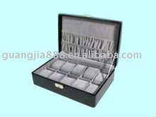 faux leather for genuine leather watch collection box