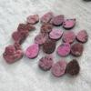 C267 Rhodochrosite Druzy drusy Cabochon semi-precious gemstone
