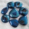 C269 Mysterious Agate Druzy drusy Cabochon semi-precious gemstone