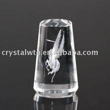 3d laser etched crystal