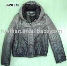 2012 women's new style nylon winter short padded jacket