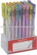 rainbow gel ink pen