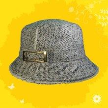 Women's Tweed Bucket Fashion Hat/ Cap