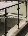 Nylon y acrílico pasamanos de la escalera