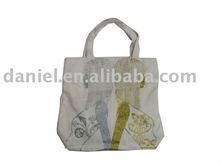 Fashion printing foldable shopping bag