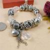 Antique silver jewelry bracelets