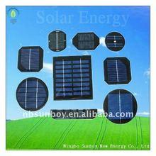 polycrystalline epoxy solar cell