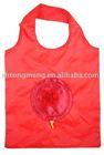 Reusable Shopping Tote, Foldable Flower, 4 Bag Set(TM-FSB-048)