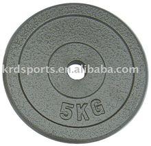 Hammertone Cast Iron Olympic Plate