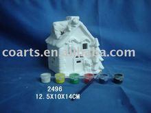 DIY ceramic house