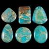 C271 snake skin jasper cabochon semi-precious gem stone
