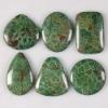 C287 Coral fossil cabochon semi-precious gemstone wholesale