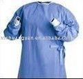 Desechables bata quirúrgica XL no estéril / reforzado bata quirúrgica desechable / desechables esterilizadas bata quirúrgica