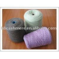 100% fils de cachemire/laine