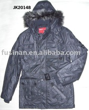 2012 men's new style hooded casual cotton long jacket