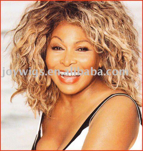 Tina Turner human hair wig/lace wig, View Tina Turner lace wig ...