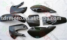 dirt bike spare parts-KLX plastic Carbon fiber
