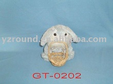 Easter plush toy lamb with busket