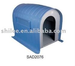 luxury dog plastic house/duluxe kennel