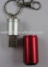 high quality logo printing metal usb flash memory
