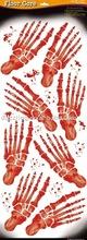 Floor Sticker / Window Cling - Bloody Footprint