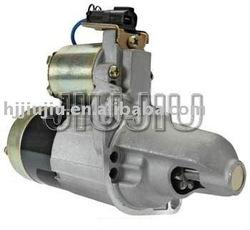 car starter Nissan motor(2-1864-MI) OEM:Mitsubishi M0T80281; Nissan 23300-0M210, -0M211 auto part 1.2kW/12 Volt