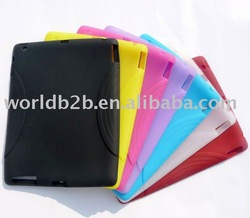 Silicon Skin Cover Case for iPad 2
