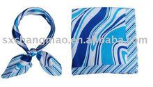 air hostess square silk scarf