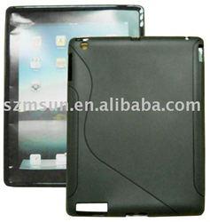 Skid-free TPU case for Apple iPad 2 case
