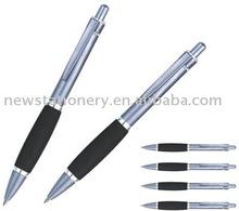 Stainless steel +shining painting barrel metal ballpoint pen