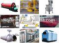 Molino de bolas, la máquina de colada, titulación de suspensión, carrito de ferry, autoclave, cortador de aac, de la caldera
