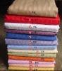 100% cotton cotton satin stripe bedding fabric