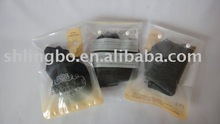 beautiful clothes packing plastic bag